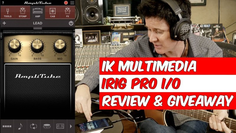 IRig Pro I/O Interface Review and Giveaway- Warren Huart: Produce Like A Pro