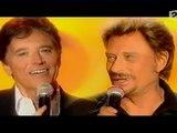 Johnny Hallyday et Sacha Distel clip dan sadydan la belle vie