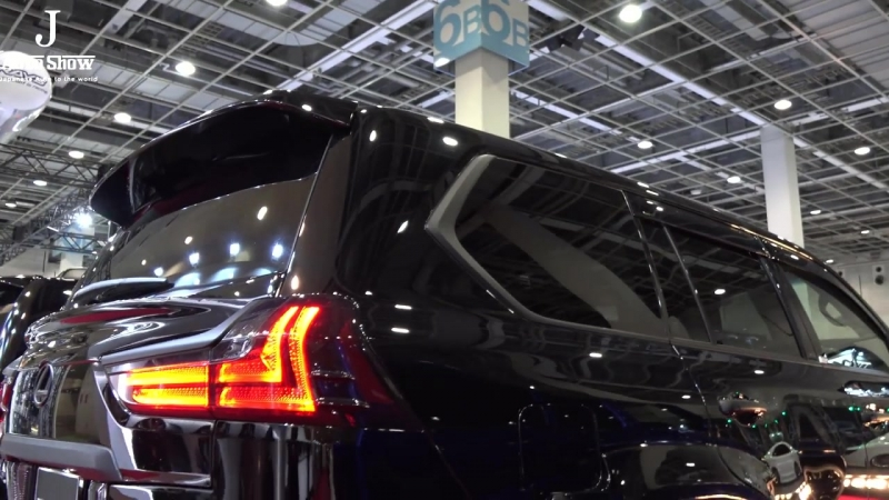 (4K)WALD LEXUS LX570 2017 modified SPORTS LINE - OSAKA AUTO MESSE 2017.mp4