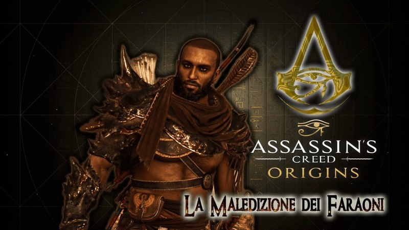 Assassin's Creed Origins La maledizione dei Faraoni Tomba di Ramsete Parte 4 Gameplay PS4