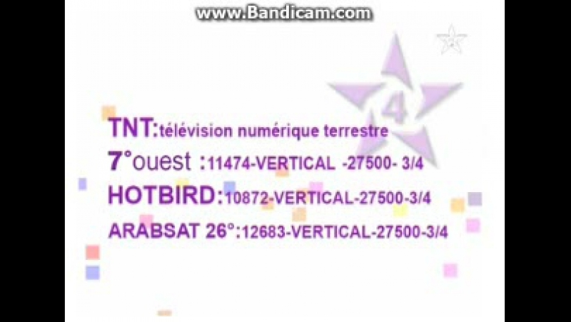 Начало эфира после профилактики радиостанции SNRT Al Idaa Al Watania 03 11 2017
