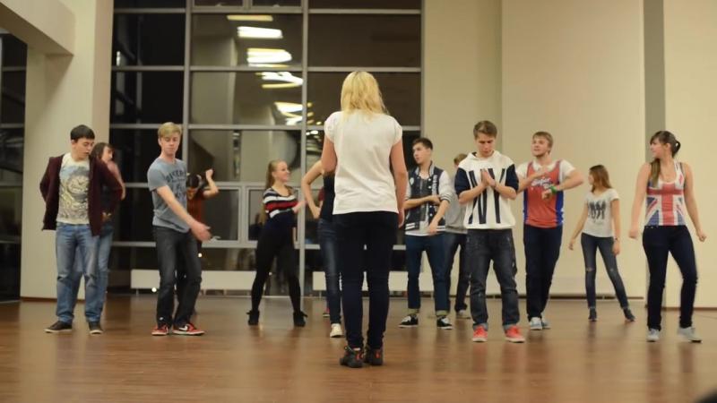 Репетиция Танца вожатых