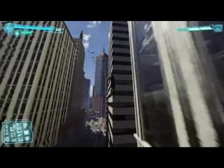 Немного движений из нового Spiderman