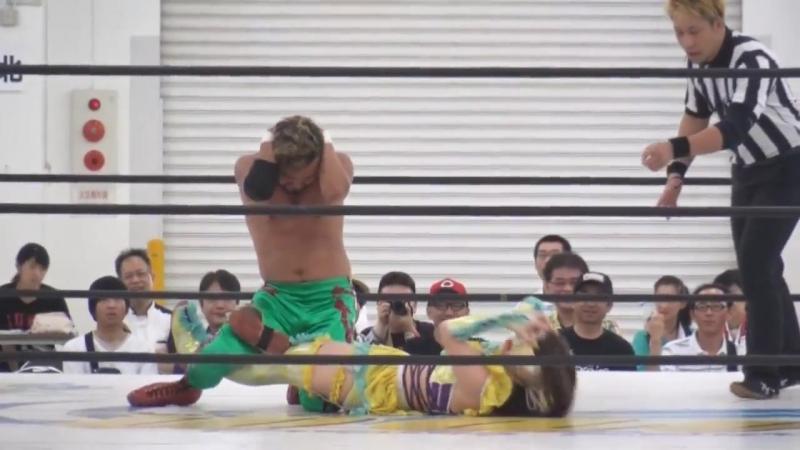 Fairy Nihonbashi, Keisuke Goto vs. Kyusei Ninja Ranmaru, Rey Paloma (WAVE - Hiroshima WAVE ~BU TI 6~)