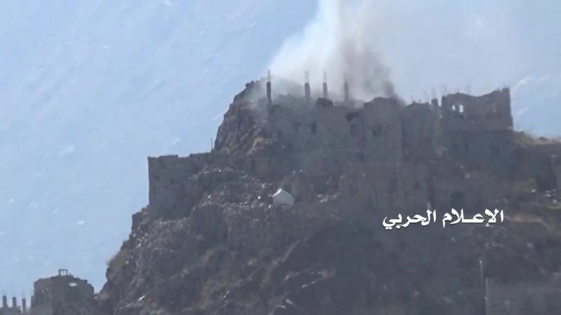 Хуситы в боях на окраинах города Асифра, провинция Таиз.