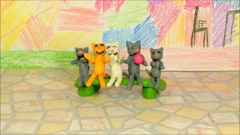 С. Михалков Котята. Экранизация любимых стихов детства. Так и хочется поиграть с этими котятами.