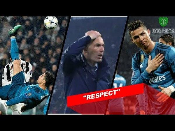 REAKSI MENGEJUTKAN DARI FANS JUVENTUS SAAT C.RONALDO CIPTAKAN GOAL SPEKTAKULER (Juve vs Madrid)