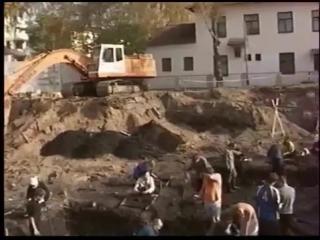 Полоцк. Археологические раскопки в центре города. 2005 год