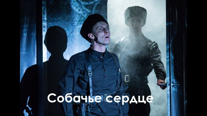 СОБАЧЬЕ СЕРДЦЕ театр Приют Комедианта