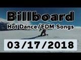 Billboard Hot DanceElectronicEDM Songs TOP 50 (March 17, 2018)