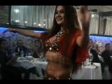 Восточный танец с переодеванием. Belly bance Маргарита. ресторан