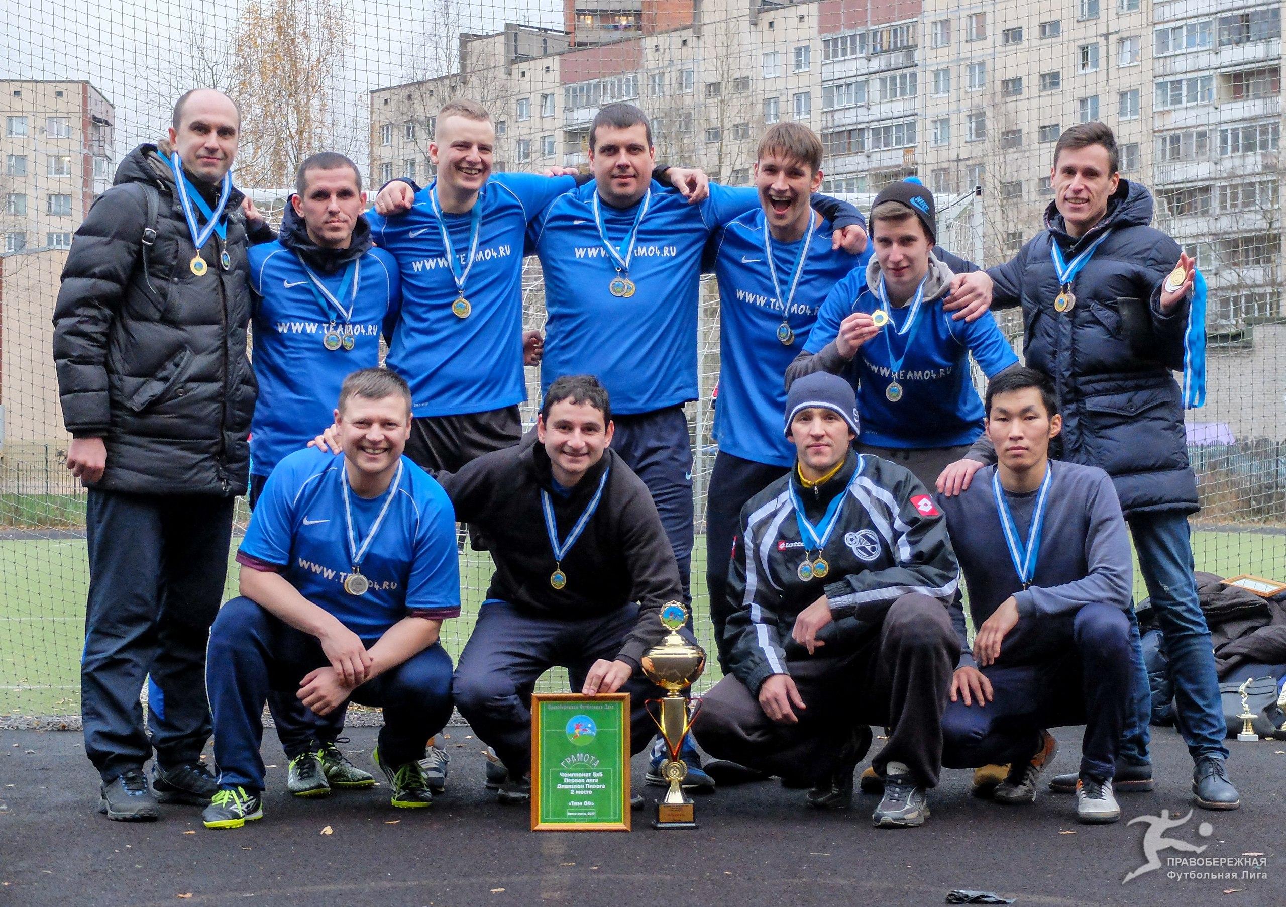 «Тим 04» - победитель Кубка лиги 5х5 в сезоне 2017!