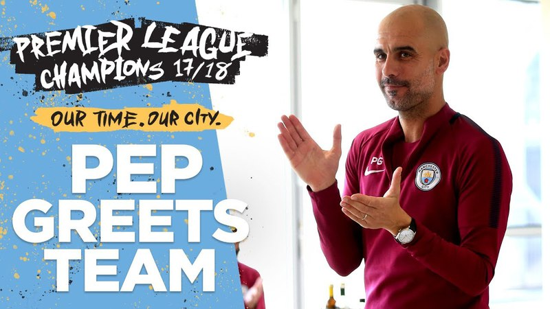 Pep's Speech To Players Staff We Are All Champions