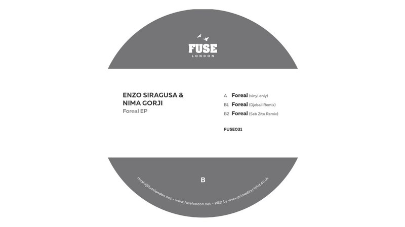 Enzo Siragusa Nima Gorji B1 Foreal Djebali Remix FUSE 031