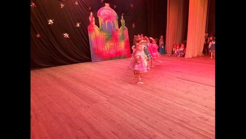 Матрешки дети (6-8лет) школа-танца ModeSSa народный стилизованный