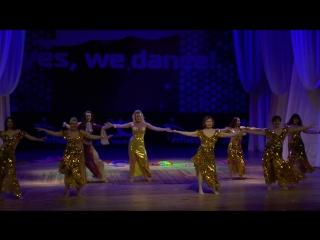 Студия  «зафира»  танец «мактуб — так предначертано»,  хор богданова ирина