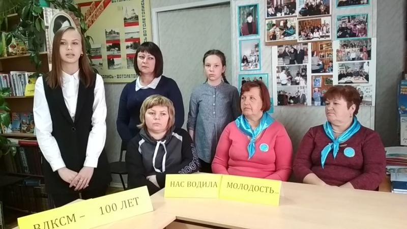Логинова Елизавета 14 лет с Старая Рачейка