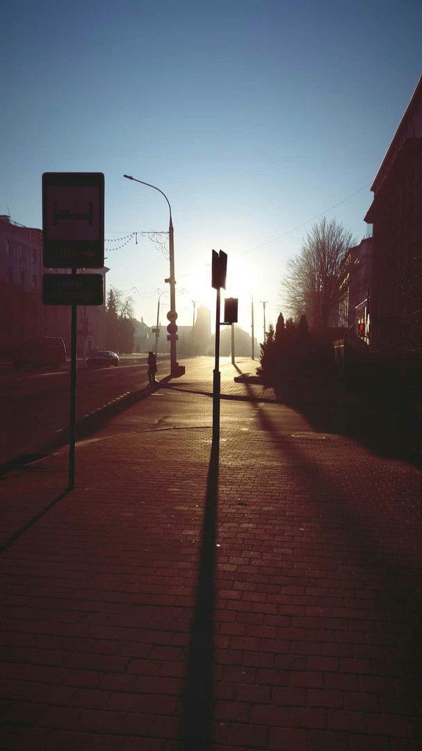 Брестчане делятся в социальных сетях фотографиями солнечного Бреста