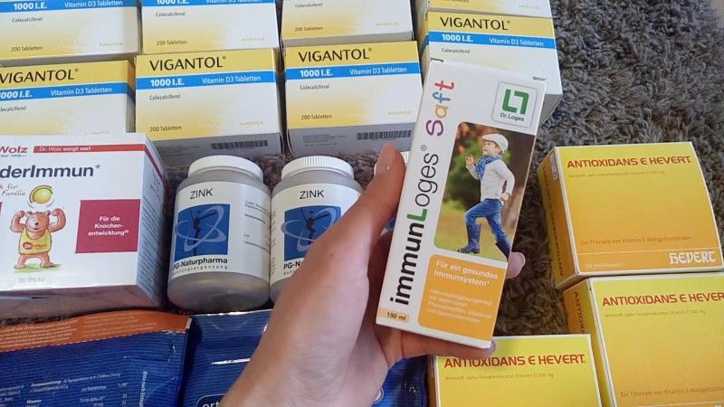 18. Обзор иммуного сиропа для детей с 1 года - Immun Loges Saft!