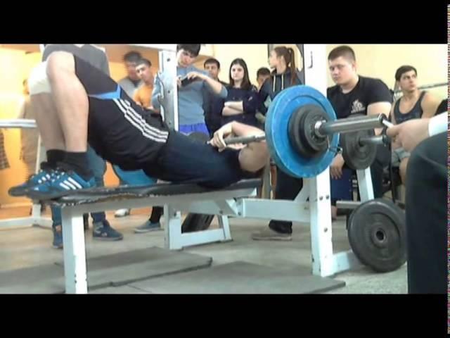 Плюснин А, СВ=77 кг, 75 кг на 18 повт, 25-04-2014