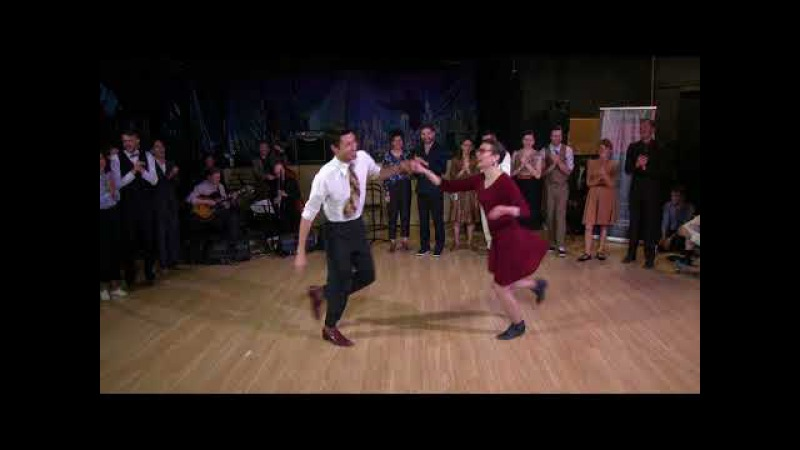 Alexey Kazennov Nataliya Borisenko — Lindy Hop Advanced Strictly Finals at Sultans of Swing 2017