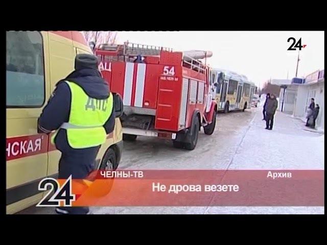 Челнинка получила травму в автобусе