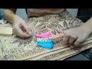 Как выровнять нити для серёжек кистей. Серьги-кисти своими руками. МК от Vikki Lu.