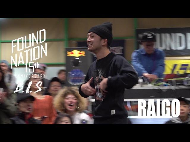 RAIGO | JUDGE | FOUNDNATION 15TH ANNIVERSARY x BIS JAPAN | LB-PIX