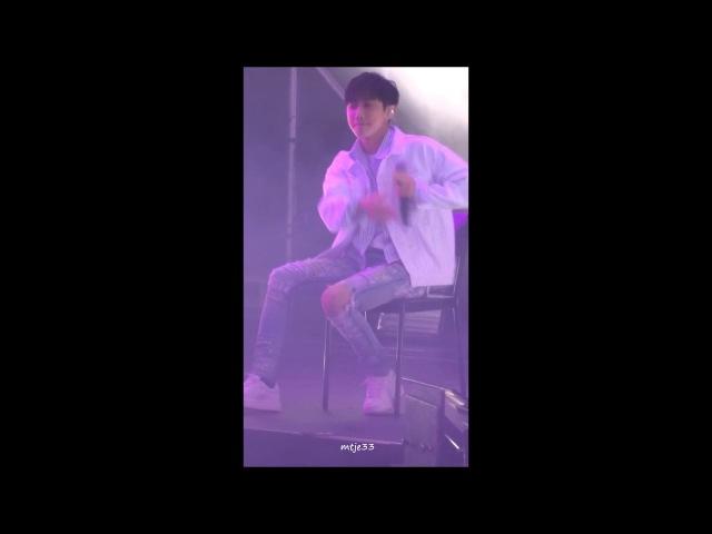20180221 Rollin' - B1A4 (Jinyoung focused) @ 2018 Stargram Global Launch K-pop Concert