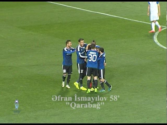 Azərbaycan Kuboku 1718, 18 final, Qarabağ 2-0 Qaradağ Lökbatan