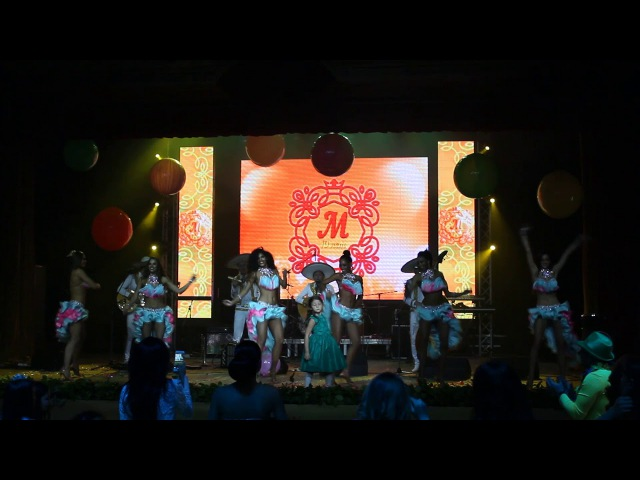 Dance Show Miss Alegria и Mariachi Los Panchos