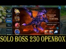 Goddess: Primal Chaos. Solo Boss 230 OpenBox