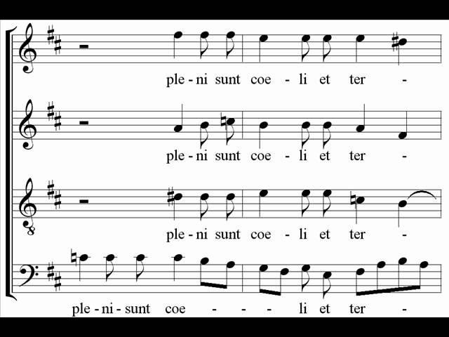 Mozart Requiem Sanctus Herreweghe