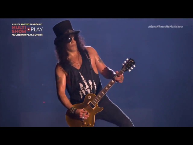 Guns N' Roses - Slash's Solo / Godfather Theme (Live at Rock In Rio 2017)