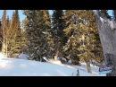 Сноубайк SNOWRIDER 120 на KAYO К6 Шерегеш