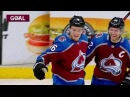Никита Задоров 6 я шайба в сезоне 05.03.2018 | Nikita Zadorov 6th goal this season
