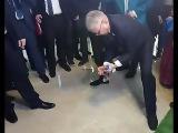 Спикер парламента Бурятии ломает кость перед Матвиенко