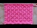 Рельефный узор в технике клоке Вязание спицами Видеоурок 260