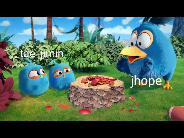 BTS AS ANGRY BIRDS 3 GOD OF DISTRUCTION