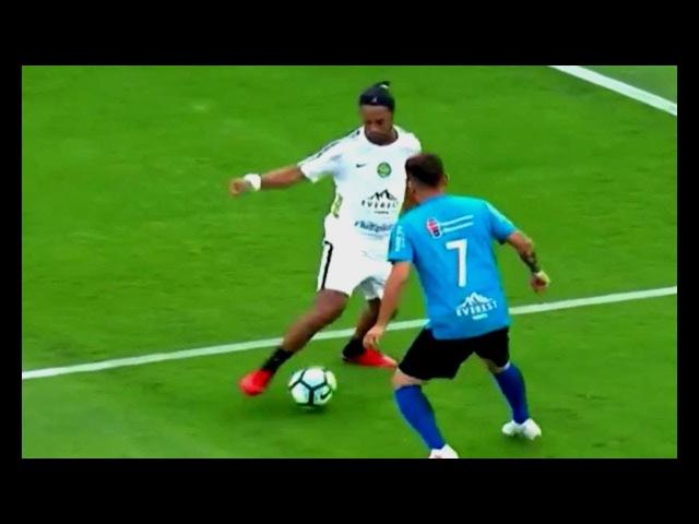 Ronaldinho Elastico vs Estrelas ⁄ JOGO BENEFICENTE 10/12/2017