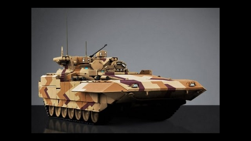 БМП Т 15 'Барбарис', правая рука Арматы. Суперсовременная машина.