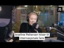 P3morgen Josefine Pettersen hilser til internasjonale fans