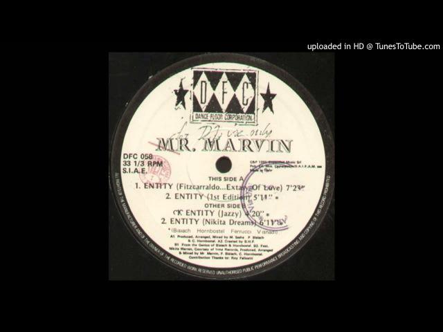 Mr. Marvin - Entity (Fitzcarraldo .. Extasy Of Love)