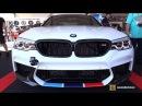 2018 BMW M5 M Performance Accessorized Exterior and Interior Walkaround 2017 SEMA Las Vegas