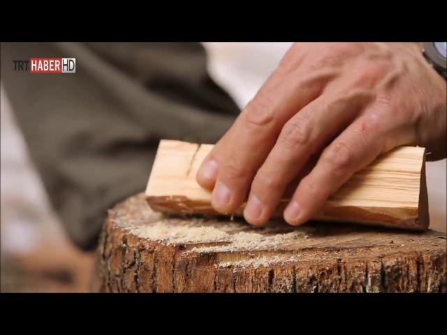 Serdar Kılıç - Çam Ağacından Bardak Yapımı