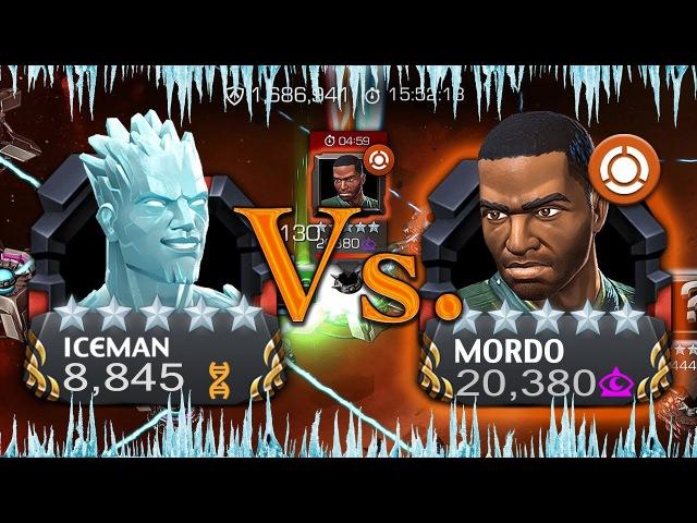 AQ Map 5: Iceman Vs. Mordo Mini Boss [The Iceman Cometh] | Marvel: Contest of Champions