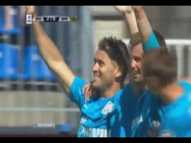 Зенит vs Амкар 22 07 2012 Премьер Лига