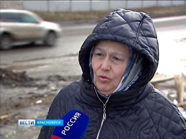 В микрорайоне Иннокентьевский Красноярска в грязи утопает новая школа