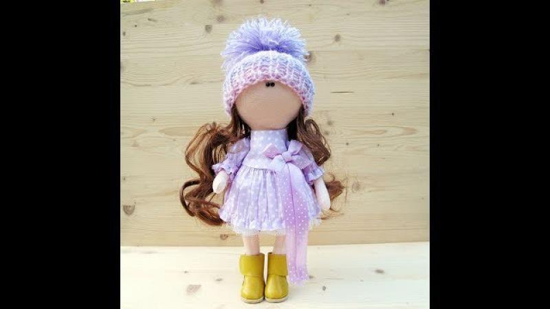 Мастер-класс кукла Полли 25 см