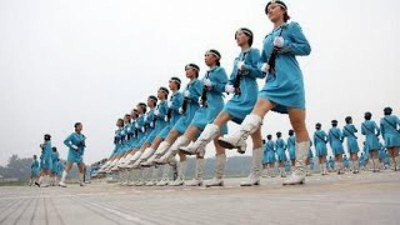 El impresionante desfile de MUJERES CHINAS te DEJARA LOCOOOO